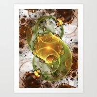 Coffee or Tea Art Print