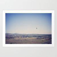 in the distance::denver Art Print