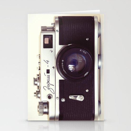 Zorki vintage camera Stationery Card