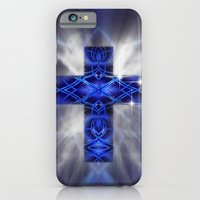 iPhone & iPod Case featuring Cross by Mr D's Abstract Adventures