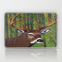 Buck by the forest Laptop & iPad Skin