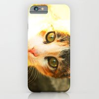 iPhone & iPod Case featuring She Has A Secret! by Duru Eksioglu