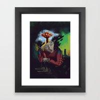 Distorted Dreams Framed Art Print