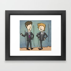 Not the Adventures of Moleman (comedy show) Framed Art Print