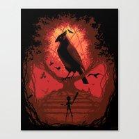 The Bird King Canvas Print