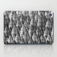 Federwald (monochrome Se… iPad Case