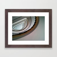 Muenster Staircase Framed Art Print