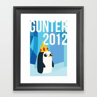 Gunter For Ice King 2012… Framed Art Print