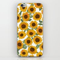 SUNNY DAYS -sunflowers- iPhone & iPod Skin