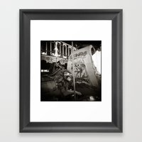 { merry go round } Framed Art Print