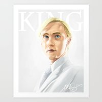 Draco At King's Cross Art Print