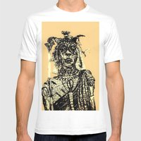 Massai Mens Fitted Tee White SMALL