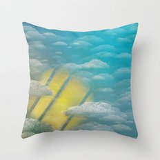 Ode to Summer Nights (Version 2) Throw Pillow