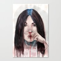 Nosebleed Canvas Print
