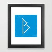 Letter B - Letter A Day Project Framed Art Print