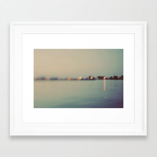 A Summer Tale Framed Art Print
