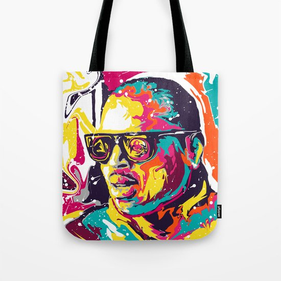 Chris Brown Tote Bag