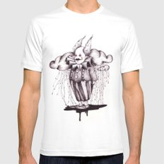 MR Rain Mens Fitted Tee White SMALL