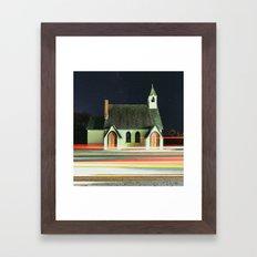 Passing by Religion Framed Art Print
