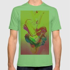 Tension. Mens Fitted Tee Grass SMALL