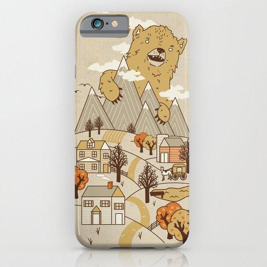 Ole Big Bear iPhone & iPod Case