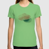 Shell II. Womens Fitted Tee Grass SMALL