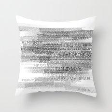 Names of God Throw Pillow