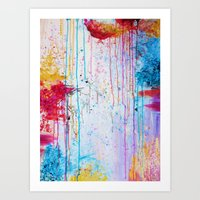 HAPPY TEARS Bright Cheer… Art Print