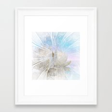 flower design -6- Framed Art Print