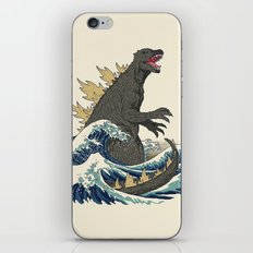 The Great Monster Off Kanagawa iPhone & iPod Skin