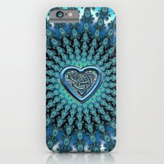 Celtic Heart Knot Fractal Mandala iPhone 6 Slim Case
