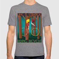 Life Is Strange, Riding … Mens Fitted Tee Tri-Grey SMALL