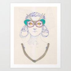 Untitled drawing Art Print