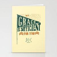 7/52: 2 Corinthians 12:9… Stationery Cards