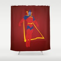 Confidence!  Kallark, The Gladiator Shower Curtain