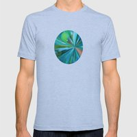 Frozen In Time Mens Fitted Tee Athletic Blue SMALL