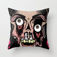 Plastic Fantastic Throw Pillow