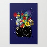 Plant Love! Canvas Print
