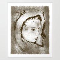Lil' Bearboy Art Print