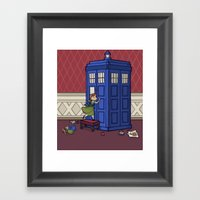 Who Wants To Build A Sno… Framed Art Print