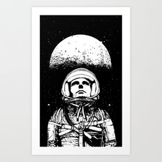 Looking for Space Art Print