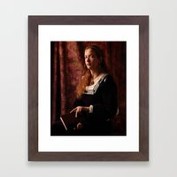 The Lady Of Schalott Framed Art Print