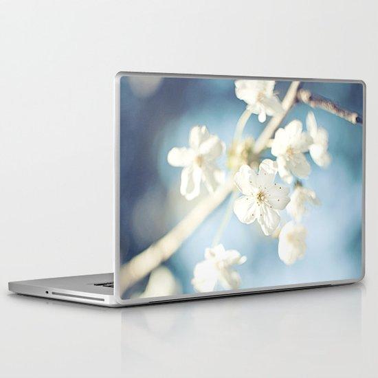 Flowers in the Sky Laptop & iPad Skin