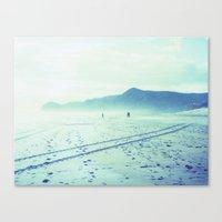 Piha Polaroid Canvas Print