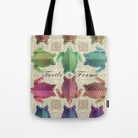 Turtle Frame Tote Bag