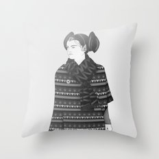 The Most Stylish Couple in Galactic 2 Throw Pillow