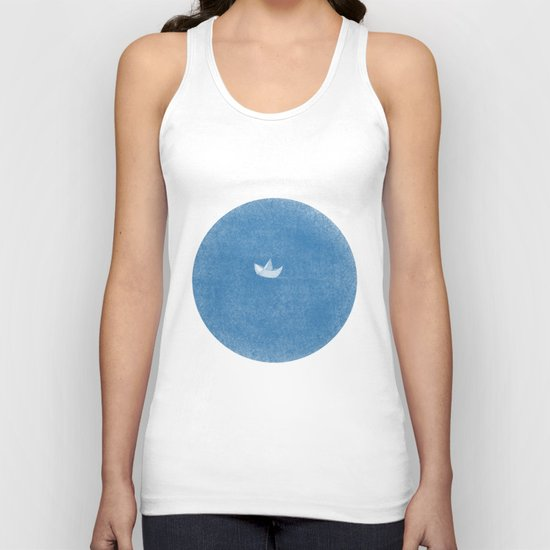 into the sea Unisex Tank Top