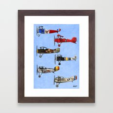 Warriors of the Sky Framed Art Print