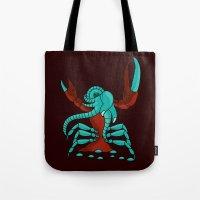Crabonster Tote Bag
