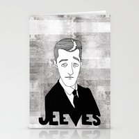 Jeeves Stationery Cards